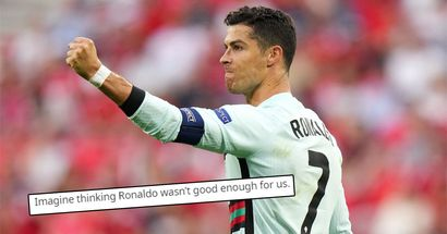 'Paging Bruno to kidnap Ronaldo': United fans react to Cristiano's performance in Euro 2020 opener