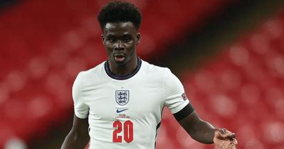 Bukayo Saka called up to England for upcoming internationals