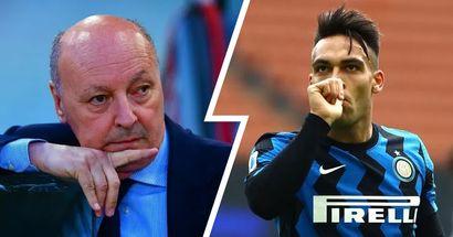 Difficile l'addio di Lautaro adesso, più probabile nel 2022: il piano dell'Inter, Marotta ha già scelto il sostituto