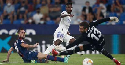 Vinicius - 9, Alaba - 3: Valoración de los jugadores del Real Madrid en el empate ante el Levante