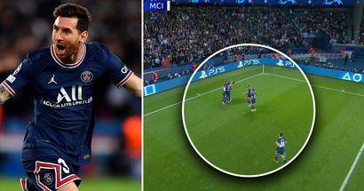 Captado por la cámara: Quién fue el primer jugador en celebrar el gol con Messi