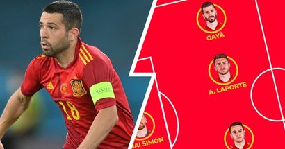 Alba surprisingly dropped from Spain's starting XI for knock-out match vs Croatia
