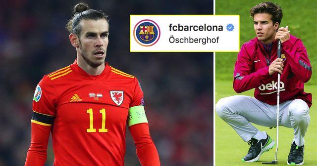 """""""Dans cet ordre"""": le Barça trolle parfaitement Gareth Bale avec une publication Instagram"""