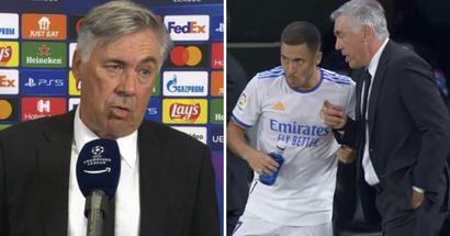 Ancelotti's reported Clasico plan for Eden Hazard revealed