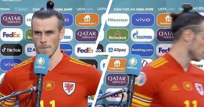 Bale sort de la zone mixte suite à une question sur sa retraite du Pays de Galles (vidéo)