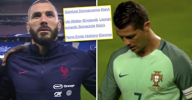 No Ronaldo, no Benzema: UEFA unveil official Euro 2020 Team of the Tournament