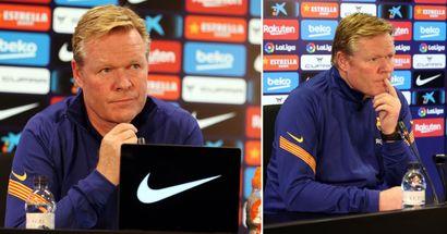 'We must appreciate the team': Koeman discusses Granada draw