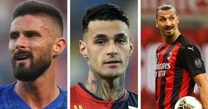 Nei desideri del Milan sale Scamacca: l'attaccante potrebbe completare il reparto con Ibra e Giroud