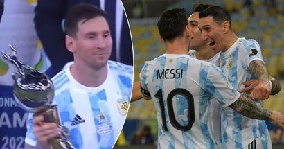Copa-America-Finalheld di Maria verrät, was Messi ihm nach dem historischen Sieg erzählt hat