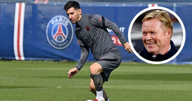 'Really, a tyrant!': Barca boss Koeman reveals Messi's approach to team training