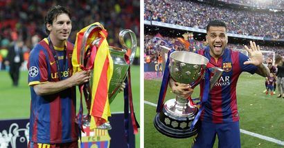 Leo Messi could become 2nd most-decorated footballer with Supercopa triumph; Dani Alves still ahead