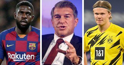 Umtiti out, Haaland in: Barcelona fan explores an ideal summer transfer window