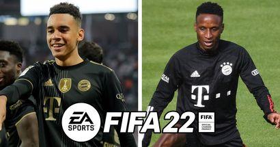 Sarr und Musiala auf einem Niveau: Alle Ratings der Bayern-Spieler bei FIFA 22 sind bekannt