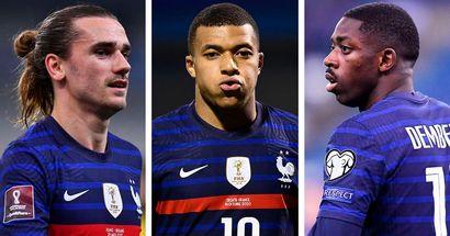 Joueurs de l'équipe de France préférés de la population française: Griezmann 2e, Dembélé pas dans le top 10