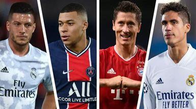 Mbappé, Lewandowski y 4 nombres más en el último resumen de fichajes del Real Madrid con índices de probabilidad