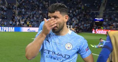 Moment, als Sergio Agüero realisierte, dass er mit Manchester City nie die Champions League gewinnen wird
