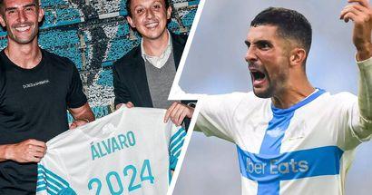 OFFICIEL! Alvaro prolonge à l'OM jusqu'en 2024