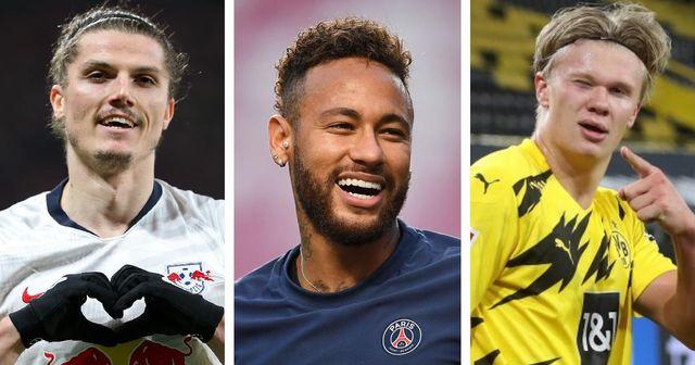 Haaland, Neymar, Sabitzer und 9 weitere große Namen im europäischen Transfer-Roundup