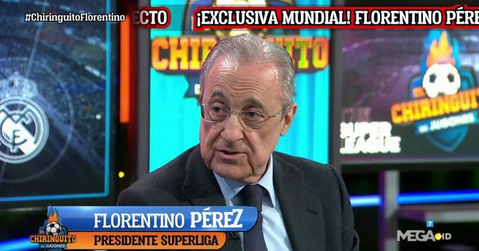 Perez: Clubs and players won't be banned from competitions by UEFA