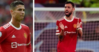 'Are you not ashamed?': What Ronaldo & Bruno said in Man United dressing room at half-time vs Atalanta