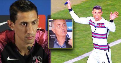 """Angel di Maria: """"Mourinho ist verrückt, es war ihm sch***egal. Einmal kämpfte er mit Cristiano Ronaldo"""""""