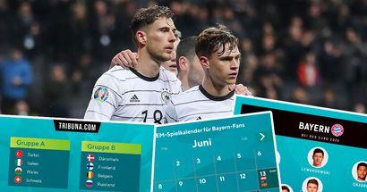 Die Bayern bei der EURO! Wer ist mit dabei? Wann schaut ihr euch die Spiele unserer Profis an?