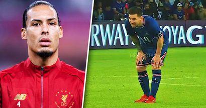 Van Dijk elige entre Messi y Cristiano y dice contra quién es más difícil jugar