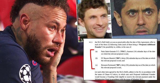 """""""Perez hat gelogen"""". Das geleakte Dokument zeigt, wie viele Tage Bayern, PSG und BVB noch übrig sind, um der Super League beizutreten"""