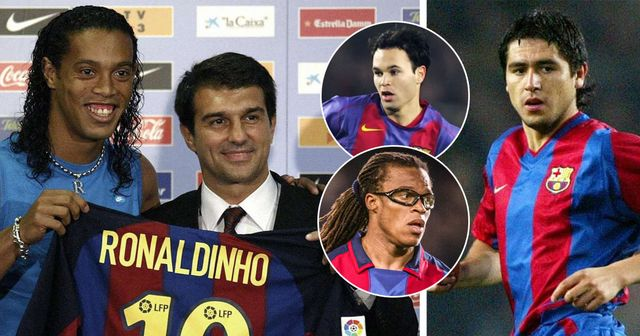 3 contracts terminated and Ronaldinho in: what Laporta's first transfer window looked like