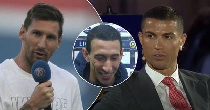"""Angel Di Maria: """"Cristiano muss sich umbringen wollen, weil er nicht bei PSG ist, aber Messi ist viel besser"""""""