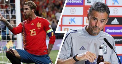 """""""Les circonstances sont les mêmes"""": Luis Enrique explique pourquoi il n'a pas inclus Sergio Ramos dans sa deuxième liste pour l'Euro 2020"""