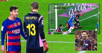 """""""Geh weiter, Idiot"""": Was zwischen Lionel Messi und dem 21-jährigen Torwart Pau Lopez geschah"""