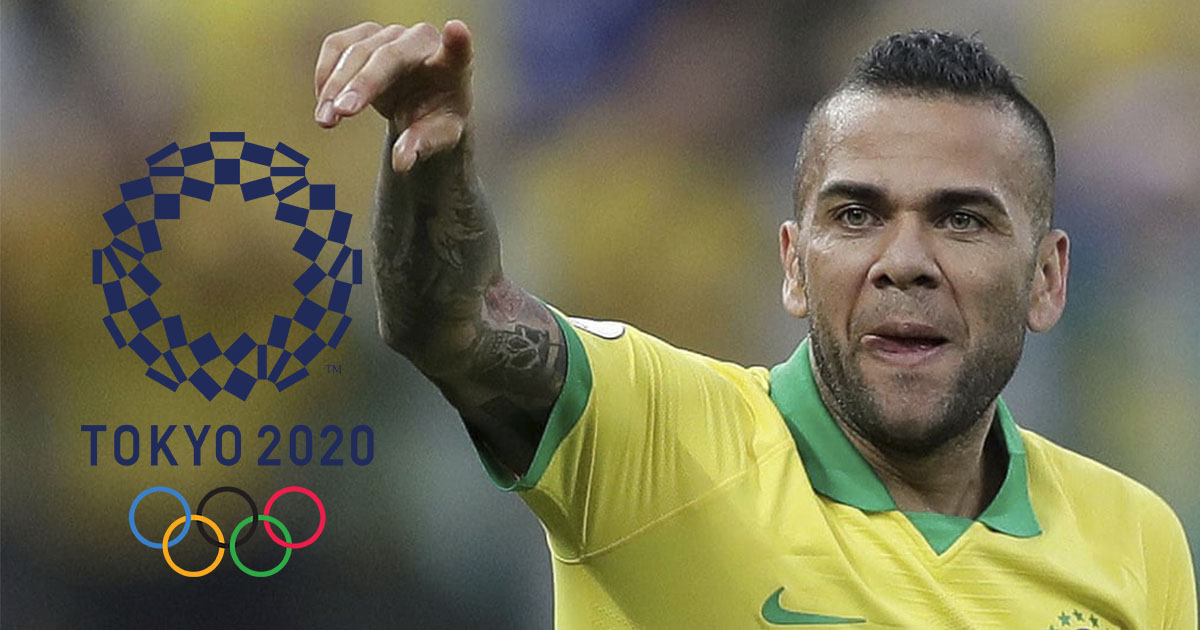 Top 5 footballers going into the Olympics 2020: Dani Alves