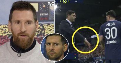 Pourquoi Messi est plus d'accord pour commencer sur le banc mais pas d'accord pour être remplacé