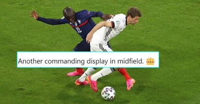 Kante bosses Germany in Euros: Best stats from yet another dominant display by Chelsea star