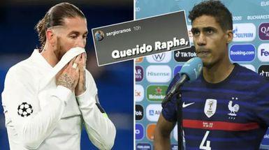 'Si nos enfrentamos, siempre con el equipo de tu país, ¿no?': Ramos envía un mensaje conmovedor de despedida a Varane