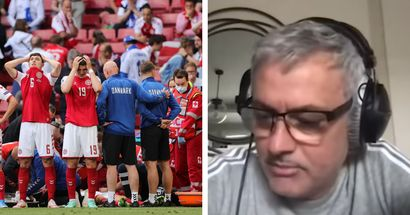 Jose Mourinho reveals his reaction to horrific Christian Eriksen incident