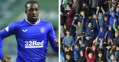 Rangers midfielder Glen Kamara 'booed with every touch' by kids in Europa League clash