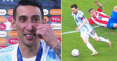 Di Maria verrät, was Lionel Messi ihm nach dem Finale der Copa America erzählt hat