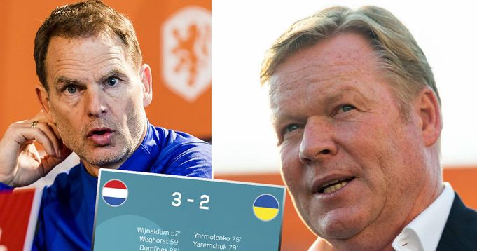 'People are very positive. That surprises me': Koeman on the Netherlands' Euro 2020 start