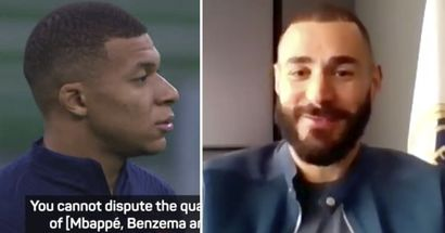 'If you want, I'll say it again': Benzema talks Mbappe's possible Real Madrid move