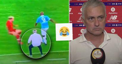 Jose Mourinho nutzt unkonventionelle Taktiken, um Gegner in der Conference League zu stoppen