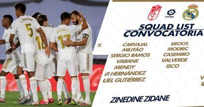 OFICIAL: Zidane no convoca a James para el encuentro ante el Granada