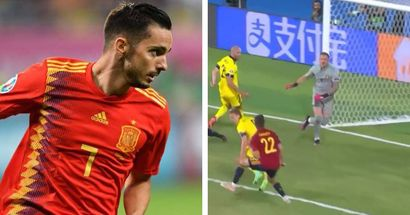 Sarabia manque de planter le but de la victoire dans le temps additionnel alors que l'Espagne est tenue en échec face à la Suède