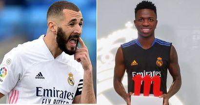 OFFICIEL : Vinicius bat Benzema et remporte le titre de joueur du mois d'août du Real Madrid
