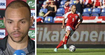 """""""Beaucoup n'étaient pas en état de jouer"""": Braithwaite sur la reprise du match contre la Finlande après l'effondrement d'Eriksen"""