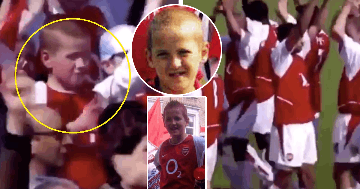 Video Of 10 Year Old Harry Kane In Arsenal Shirt Clapping To Invincibles Goes Viral On Twitter