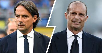 Inter-Juve è anche Inzaghi vs Allegri: 2 filosofie e identità di calcio agli antipodi a confronto