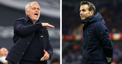 'NLD is only a month away, needs to start mind games now': Arsenal fans amused by Mourinho's remarks on Stuivenberg