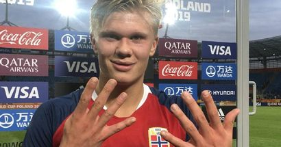 Heute vor einem Jahr: Erling Haaland erzielt 9 Tore in einem Spiel